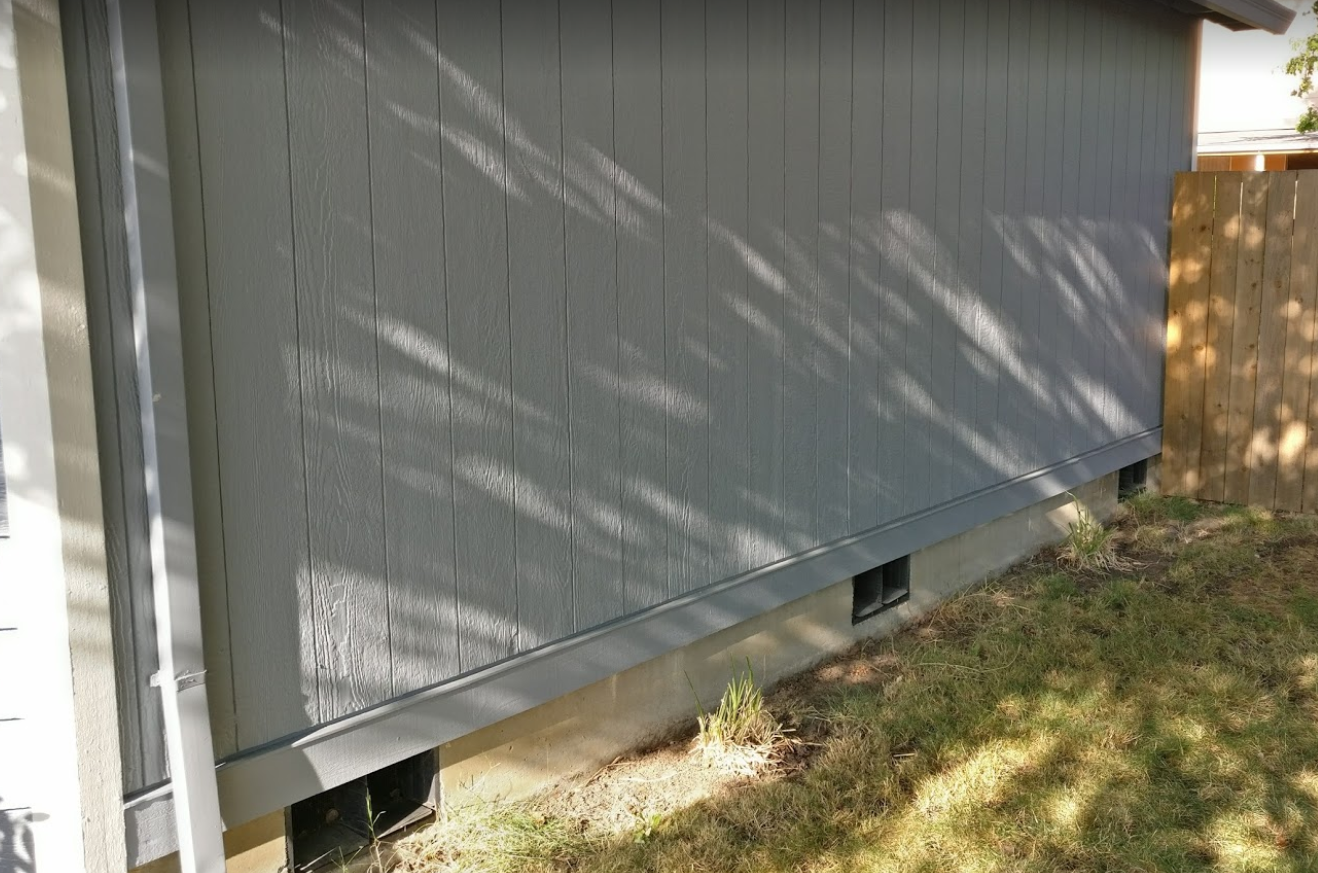 How to replace rotted T1-11 / LP siding with a belly band - Brian
